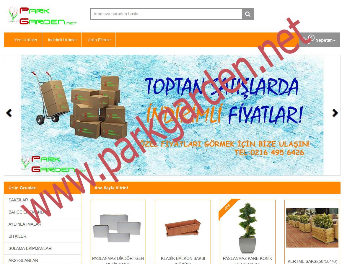 E-ticaret web sitemiz hizmetinizde
